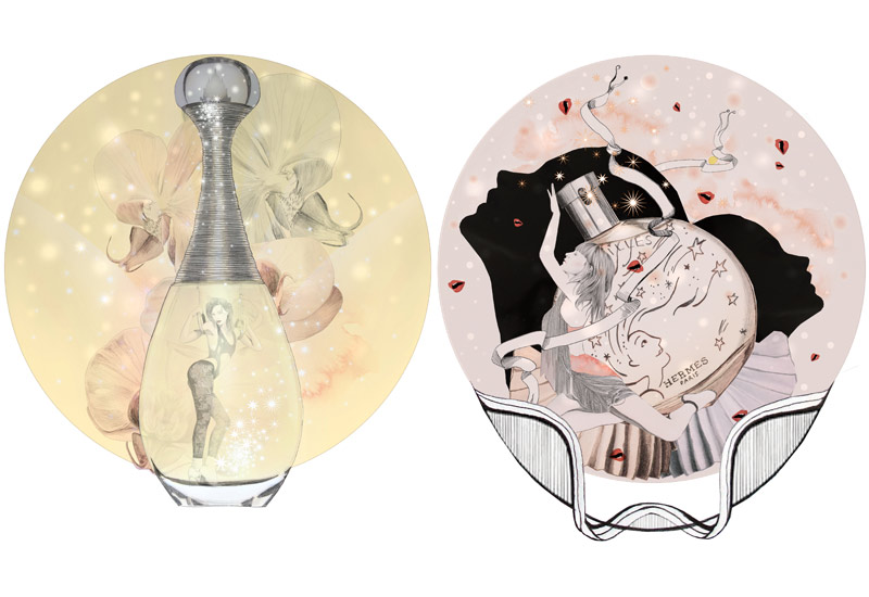 38-dior-hermes-perfumes-montage-illustration-fashion-beauty