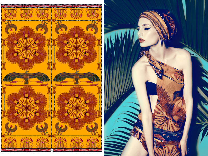 coco-forgetmenot-scarf-foulard-ete-summer-pareo-egypt