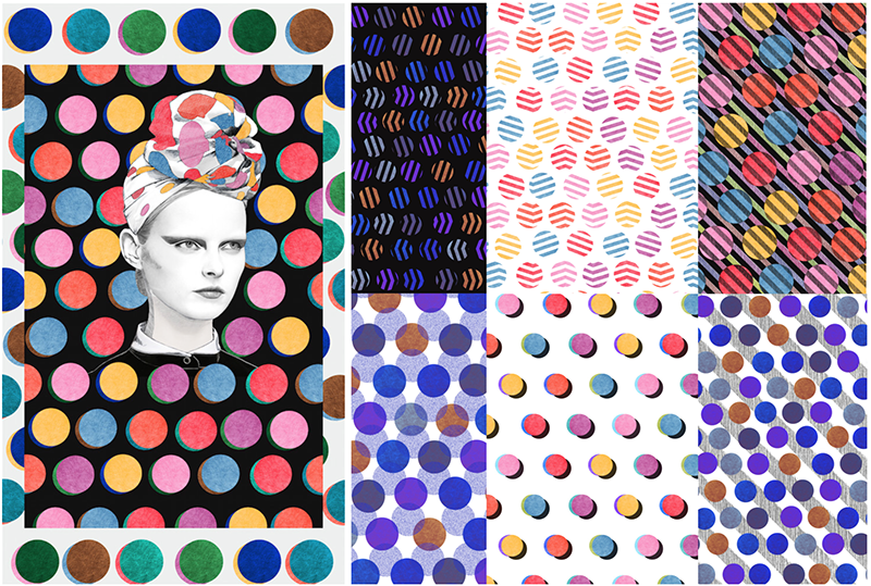 forget-me-not-coco-dots-pattern-french-illustrator-artist-collaboration